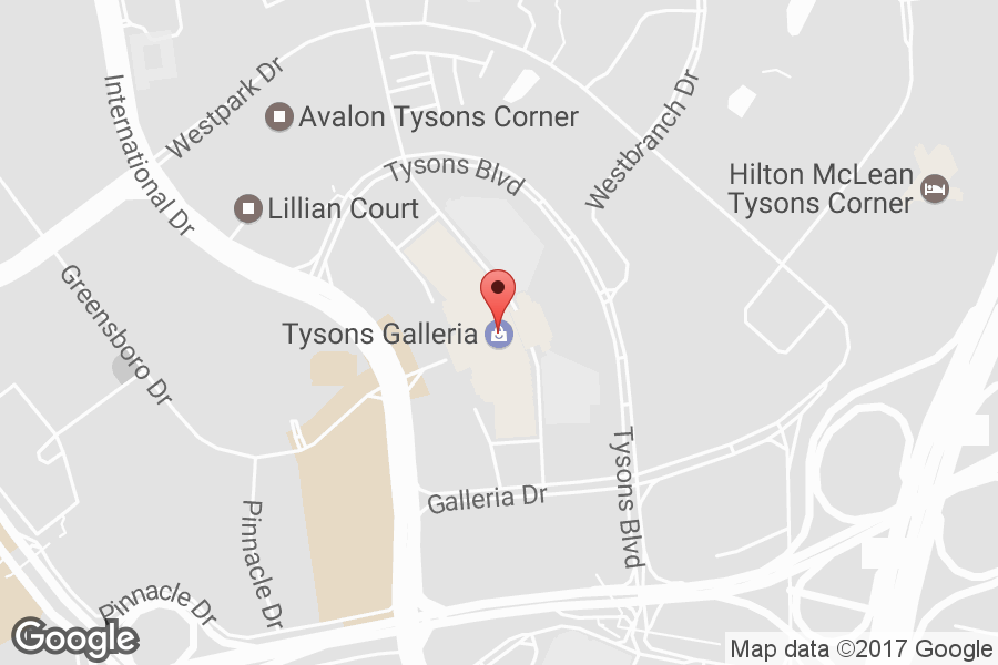 Map of Tysons Galleria - Click to view in Google Maps